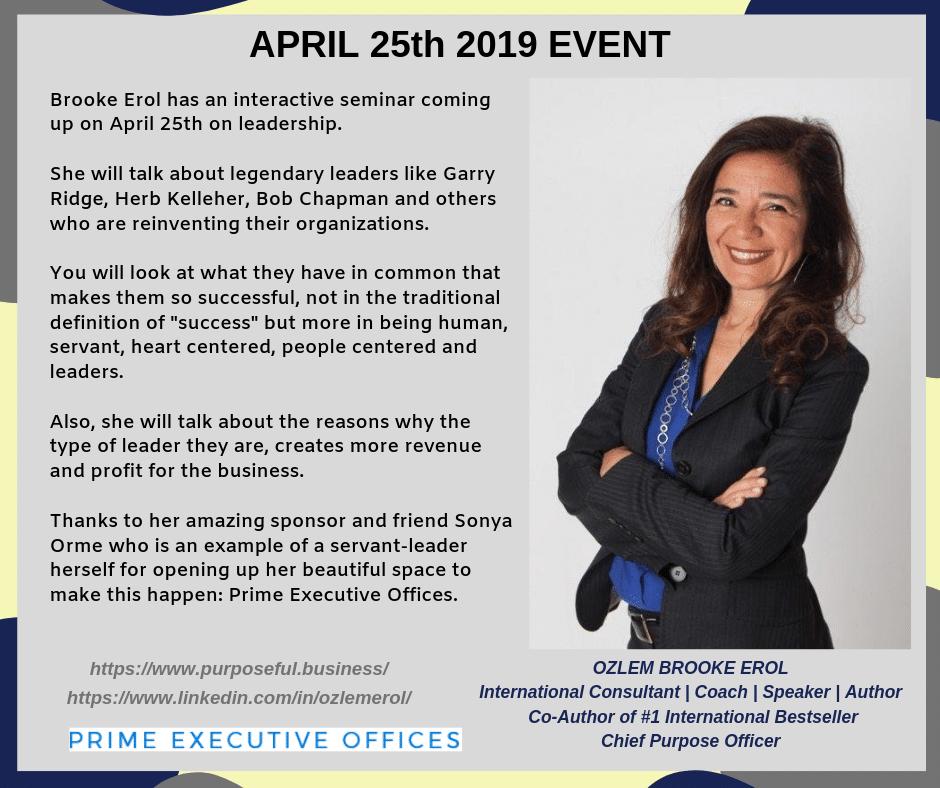 April 25th 2019 Event