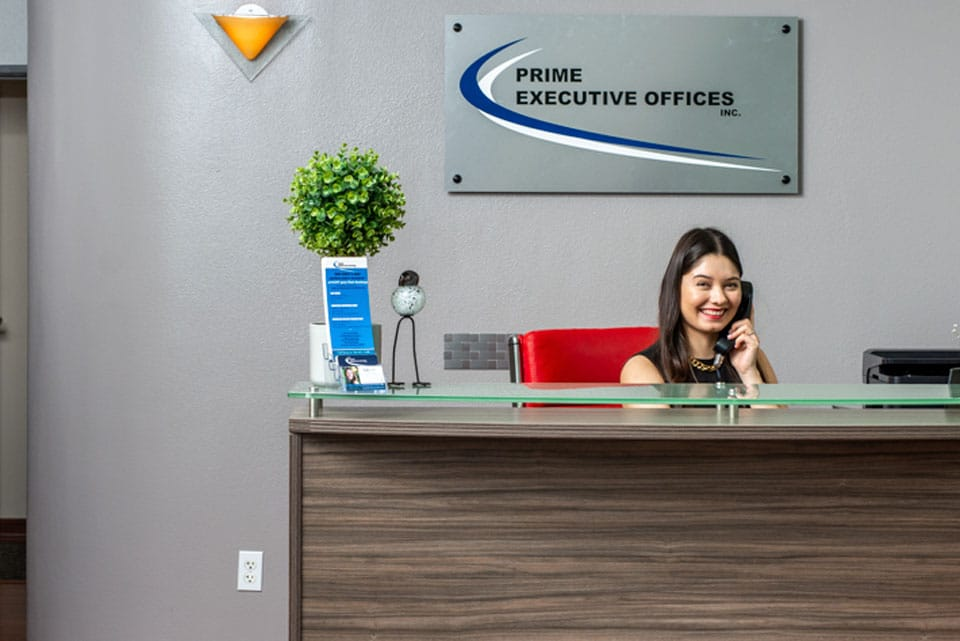 Prime Executive Office Front Receptionist